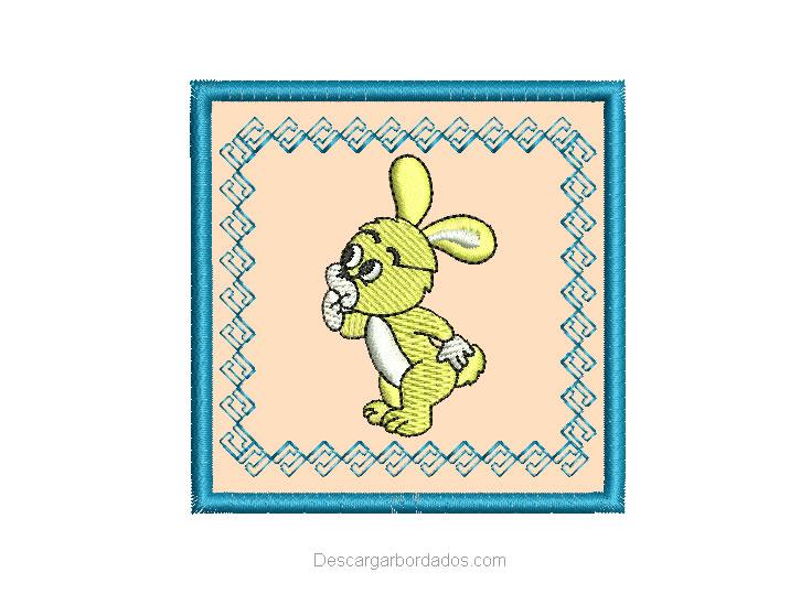 Bordado de conejo bebe para Bordar