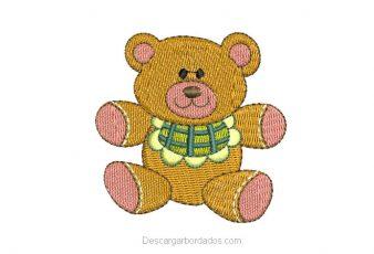 Bordado de oso para bordar
