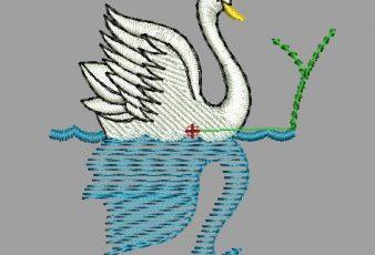 Descargar diseño bordado de pato para maquina