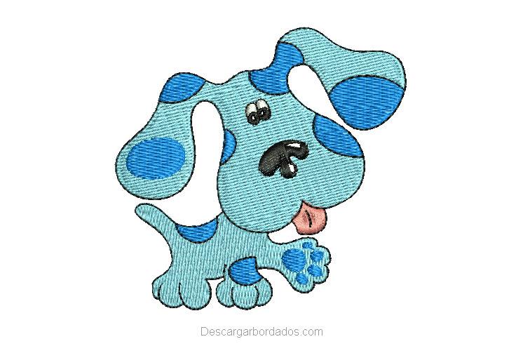 Diseño bordado de perrito para bebes