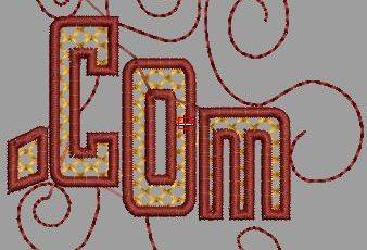 Descargar Bonito Bordado de Letras para maquinas