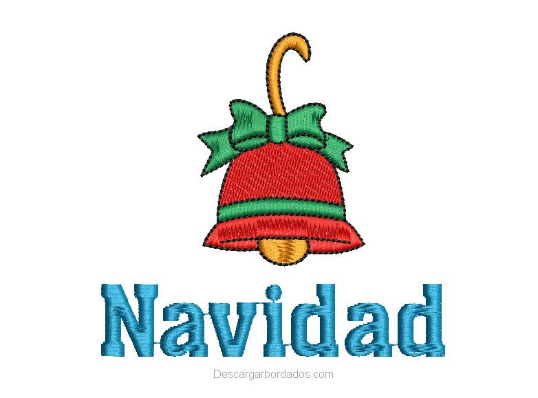 Diseño campana de Navidad
