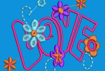Descargar Diseño de Rosas y Flores para Bordar