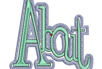 Descargar Bonito Diseño Bordado de letras para bordar