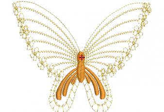 Descargar hermosa mariposa para bordar