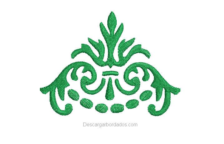 Diseño bordado de tribal para bordar