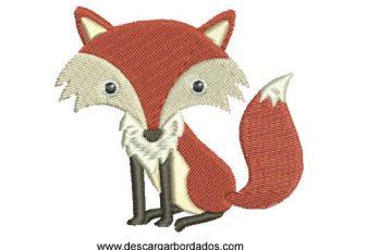Descargar Bordado de Coyote Infantil