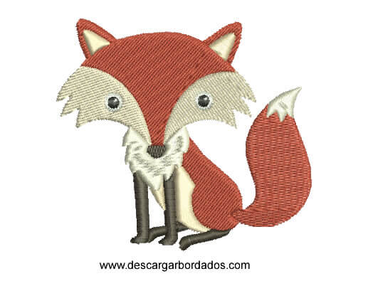 Bordado de Coyote Infantil