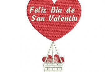 Diseños Bordados de San Valentín para Bordar