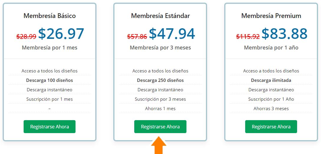 Comprar membresía de bordado