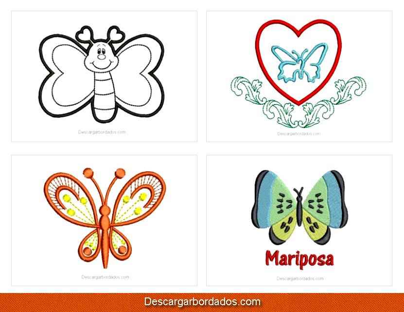 Descargar picajes ponchados y matrices de mariposas