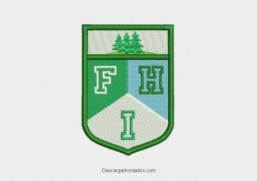 Diseño Bordado Escudo F H