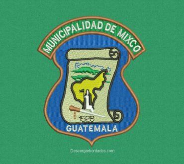 Diseño Bordado Logo Municipalidad