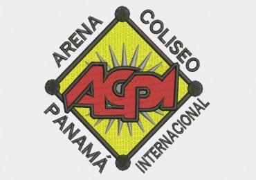 Diseño Bordado de Logo Arena Coliseo