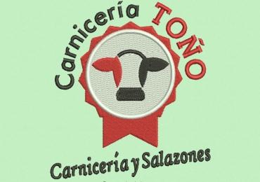 Diseño Bordado de Logo Carnecería