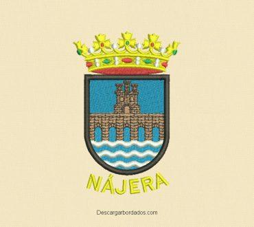 Diseño bordado escudos
