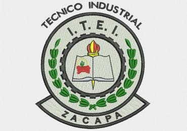 Diseño bordado de logo industrial