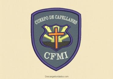 Diseño de Bordado Logo Escudo CFMI