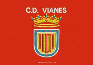 Diseño de bordado Logo Vianes