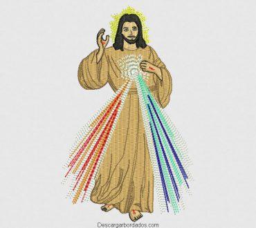 Diseño de bordado jesus