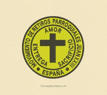 Diseños bordados religioso