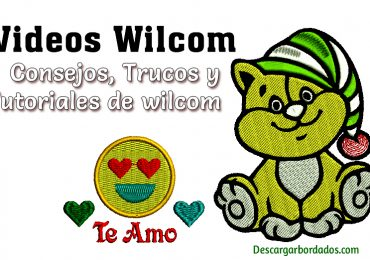 Videos de wilcom Trucos y Tutoriales de bordado