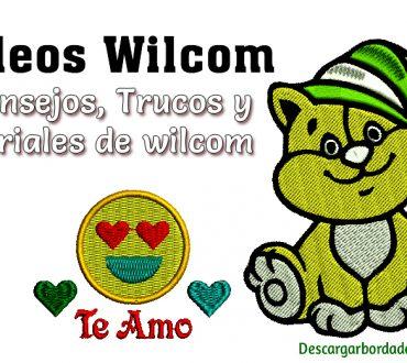 Videos de wilcom Trucos y Tutoriales de bordado