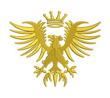 Águila Heraldica Diseños de Bordado