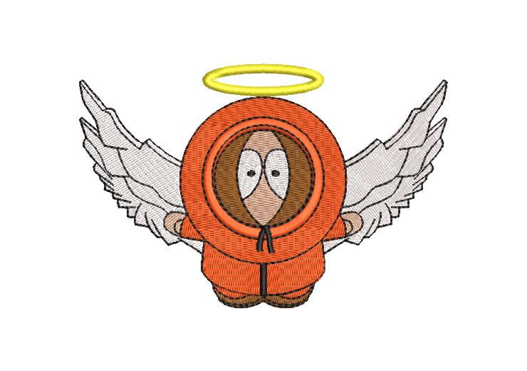 Angel Kenny South Park Diseños de Bordado