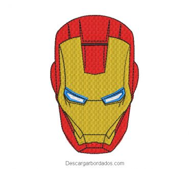 Bordado Rostro de Iron Man