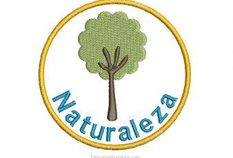 Diseño Bordado de Árbol con Nombre Personalizado