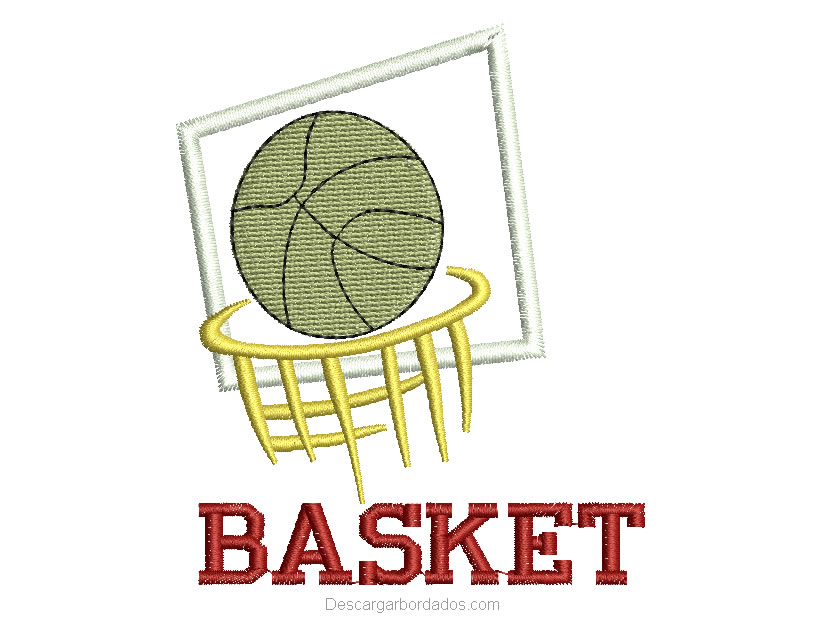 Bordado de Basket