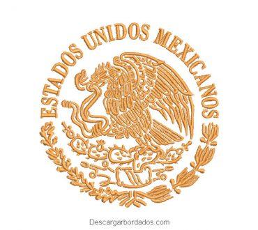 Bordado de Escudo Estados Unidos Mexicanos
