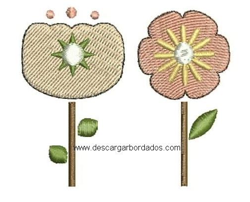 Bordado de Flores para bordar