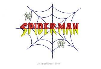 Descargar Bordados de letras Spider-Man