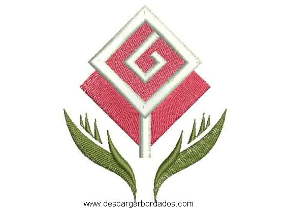 Bordado de Rosa Logotipo