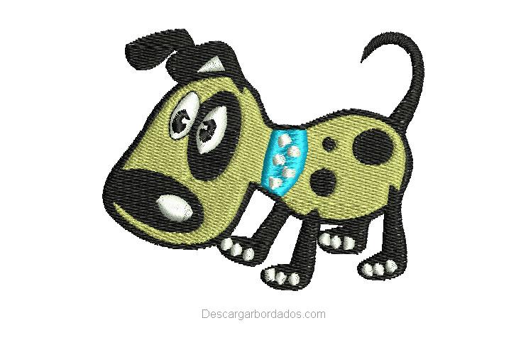 Bordado de cachorro Infantil para Bordar