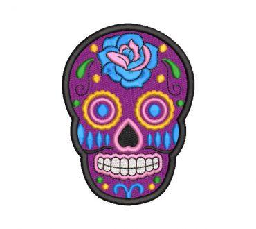 Calavera Catrina de México Diseños de Bordado