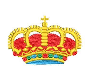 Corona de Rey Diseños de Bordado