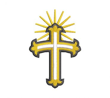 Cruz Cristiana Diseños de Bordado