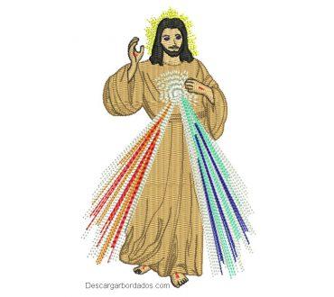 Descargar bonito diseños bordado de Jesús