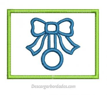 Diseño Bordado de cuadro decorado para Bordar