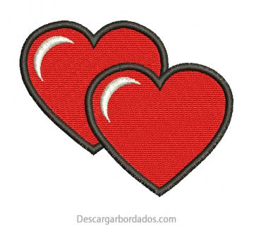 Diseño Bordado de Corazón