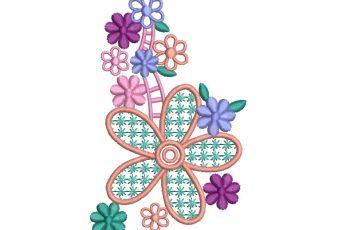 Descargar Diseño Bordados de Flores