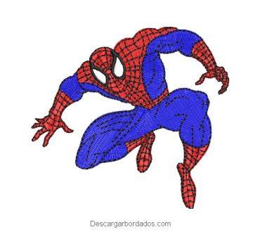 Diseño Bordado de Spider-Man