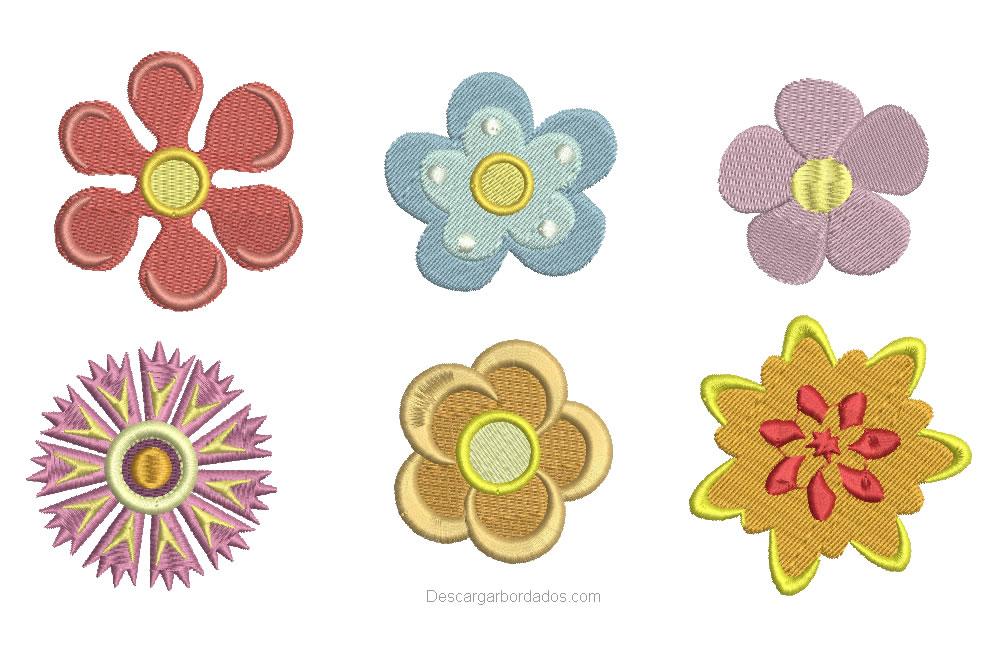 Diseño Bordados de Flores