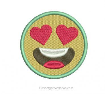 Descargar Diseño Bordado de Emoji