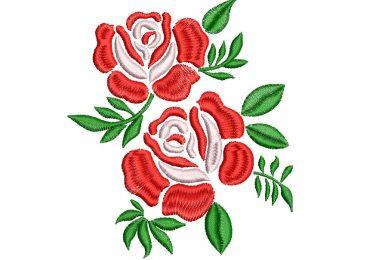 Disenos De Rosas Para Bordar Descargar Picajes Ponchados Y - Diseos-de-rosas