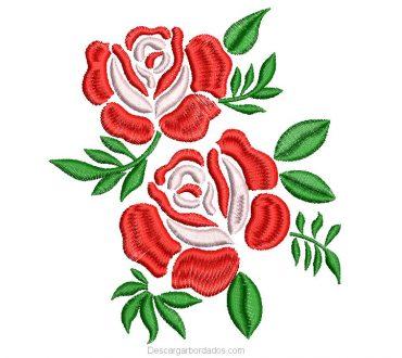 Descargar Picaje de Rosas Gratis para Bordar