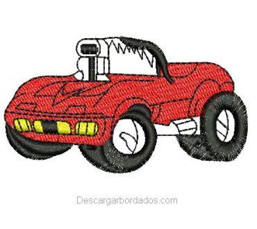 Diseño bordado de automóvil para bordar